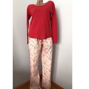 Victoria's Secret Flannel Pajamas 2PC Set PJ
